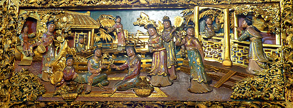 Mural at Lady Linshui Temple