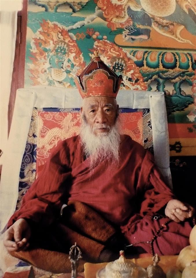 Chatral Rinpoche, Sangye Dorje